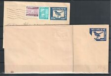 BANGLADESH CLASSIC POSTAL STATIONERY BIRDS 3 COVERS (2 WITH ERROR) BIRD (1042)