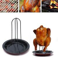Oven Baking Chicken Pan Roasting Tray Non Stick Poultry Roaster Rack Tools New