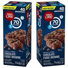 📌Fiber One Brownies Chocolate Fudge (40 ct.) *FRESH* FREE SHIPPING & RETURNS