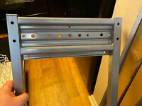 """IKEA Galant 301.864.69 : 47 x 1 5.5 x 1.25"""" Frame for [4 x 2' Table Top] - Used"""
