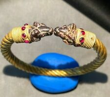 A beautiful rare Greek period Solid gold bangle 300 BC