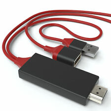 MHL auf HDMI Adapter 1m USB TV Kabel Handy Tablet Samsung Apple Huawei iPhone
