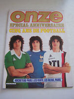 MAGAZINE FOOTBALL ONZE N° 61 EN TRES BON ETAT . VOIR DESCRIPTIF .