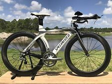 2012 Specialized Transition Expert Carbon, Ultegra, UPGRADED  Carbon Wheels, XS