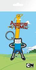 Adventure Time Rubber Keychain Finn