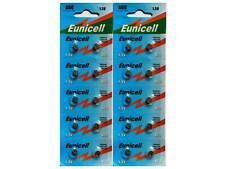 20 X EUNICELL AG0 LR521 379 SR521 BUTTON/COIN WATCH BATTERIES