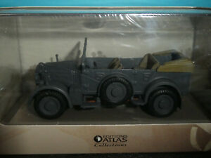 Horch Kfz 15 German Army Vehicle  in Europe WW2 1939/45  by Atlas Editions 1:43