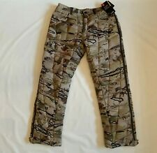 Under Armour Alpine Ops Insulated Storm Packable Hunting Camo Pants Men's Sz L