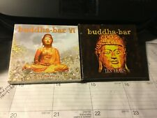 BUDDHA-BAR 4 CD+1 DVD LOT: VI (6) AND TEN YEARS BOX SET