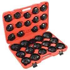 vidaXL Juego de Llaves para Filtro de Aceite 30 Piezas Herramientas de Coche