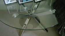 Glass Round Contemporary No Assembly Required Coffee Tables