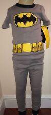 Batman Boys Gray 2 Piece Short Sleeve Pajamas Size 4T