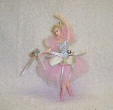 2004 Hallmark Ornament Barbie Ballerina Peppermint Candy Cane