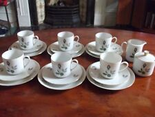 LOVELY 1960'S SELTMANN WEIDEN COFFEE SET FOR 6