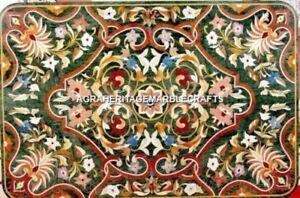Exclusive Marble Dining Room Hallway Table Top Pietradura Inlay Home Decor H4494