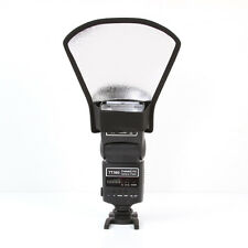 Flash Speedlite Diffuser Softbox Silver White Reflector Light Fr Canon Nikon New
