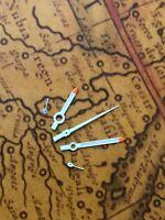 Zeigersatz Chronograph Weiss/Weiss NOS Style Retro für ETA Valjoux 7733