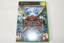 Sid Meier's Pirates Live the Life Xbox 2005 Disc and Manual only fine condition