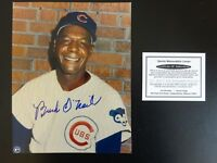 BUCK O'NEIL SIGNED AUTO CHICAGO CUBS 8X10 PHOTO AUTOGRAPHED