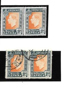 South Africa Stamps KGVI 1937 Coronation 1 1/2d Variety Mouse SG73a MNH