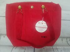 Vtg Ocean Pacific OP CORDUROY Purse RED Hand Bag SURFER NEW WITH TAGS