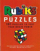 Rubik's Puzzles (Puzzle Books) New Paperback Book Logic Puzzles