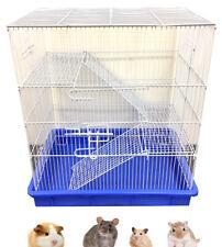 3-Floors Hamster Rat Mice Mouse Guinea Pig Degu Dagus Rodent Animal Critter Cage