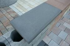 Mauerabdeckung Abdeckplatte Mauerabdeckstein 60 x 30 x 5 cm für Gartenmauer grau