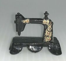 Sewing Machine Dollhouse Miniature Metal Accessory
