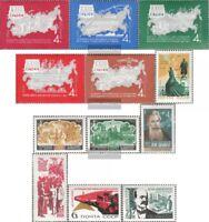 Sowjet-Union 3269-3273,3276,3277-78, 3291,3292,3294,3303 (kompl.Ausg.) gestempel