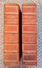 Bausman History of Beaver County, DeLuxe Edition Leather bound original 1904
