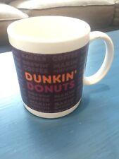 Collectible Dunkin' Donuts 11 Oz. Ceramic Coffee Mug