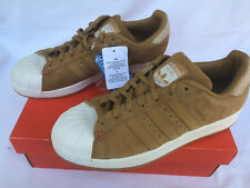 Adidas Superstar B27574 Winter Mesa Suede Gum Basketball Sneaker Shoes Men's 10