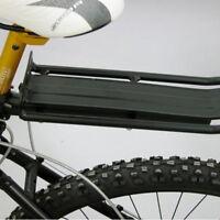 Adjustable Bike Bicycle Rear Cargo Rack Luggage Panniers Carrier Seatpost Mount