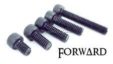 100 Tattoo Machine 8-32 Black Alloy Hex Cap Screws, Sockethead Screw Kit Forward