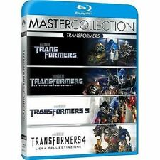 Blu Ray TRANSFORMERS Quadrlogia - (5 Blu-Ray) *** Master Collection ***...NUOVO