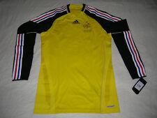 France Soccer Jersey Football Adidas Player Issue GK Shirt Maglia Trikot Techfit