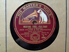 JACK HYLTON - Nesting Time / Ting-A-Ling 78 rpm disc (A+++)