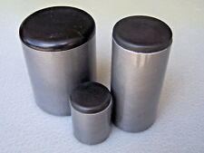 """Plastic Insert Caps & Plugs the end of 1-1/8"""" Round Tube 14-20 gage wall/ 4 PAK"""