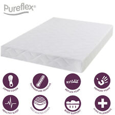 Infusion full memory foam quilted panel mattress - 3ft single - 6 inches