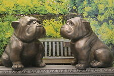Dogs Stone Garden Statues Ornaments