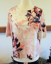 Warehouse pink floral top size 14