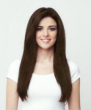 "18"" 4# Straight 11pcs Full Head Clip In Human Hair Extension Brown SK076 CC 13"