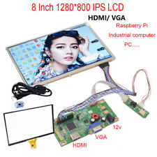 8 inch 1280*800 IPS display HDMI Kit for CARPC DIY support Win10 Raspberry Pi