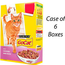 GO-CAT CAT alimentaire biscuits Poulet & Canard 340 g Case of 6 cases 202396
