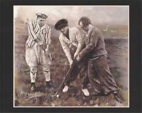 Three Stooges Golf Art Haiyan Poster