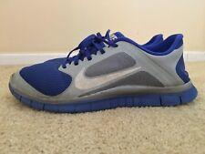 NIKE FREE RUN 4.0 V3, 579958-014, Blue / Gray, Men's Running Shoes, Size 12