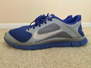 Nike Free 4.0 Blue Sneakers for Men for Sale   Authenticity ...