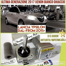 2 Lampadine BIXENON D1S LANCIA YPSILON 846 2011> fari 6000K RICAMBIO Luci Abbagl