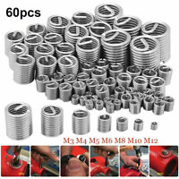 V-Coil Helical Wire Thread Repair Inserts for 7//16 x 20 UNF 2.0D 10 off